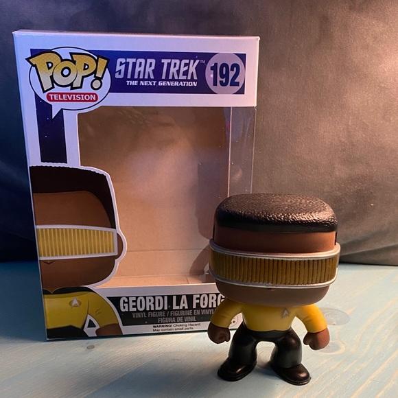 Geordi la Forge Funko pop Star Trek TNG